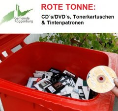 Rote Tonne